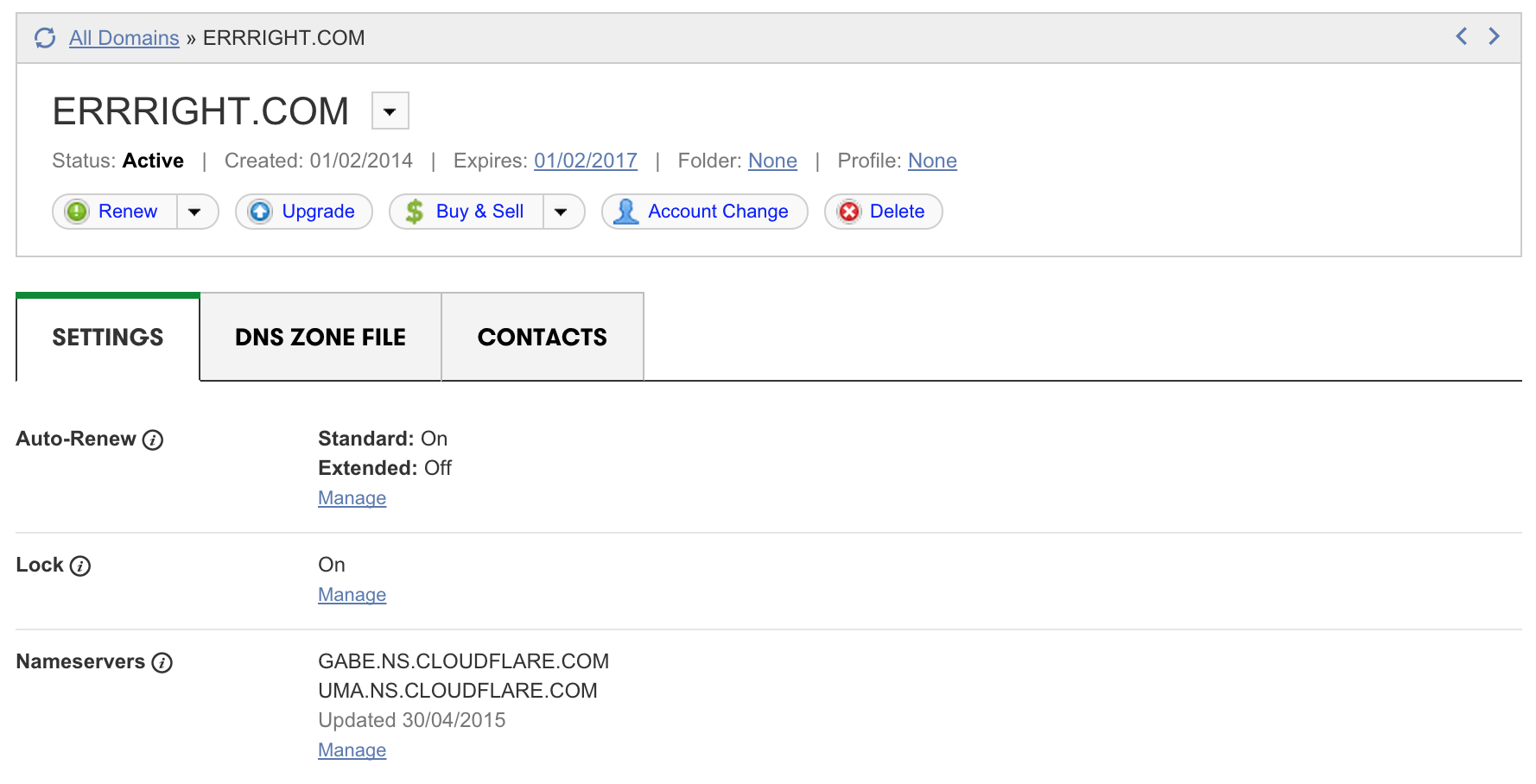 Setting up Cloudflare